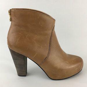 Steve Madden Stacked Heel Boots Naples 6.5